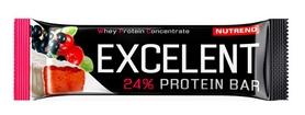 Батончик протеиновый Nutrend Excelent Protein Bar - черная смородина+клюква, 85 г (NUT-959)
