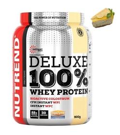 Протеин Nutrend Deluxe 100% Whey - лимонный чизкейк, 900 г (NUT-1770)