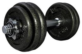 Гантель наборная LiveUp Dumbbell Set, 15 кг (LS2311-15)