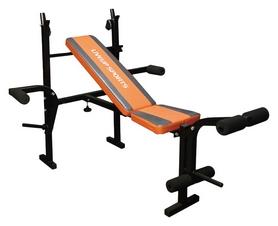 Скамья атлетическая + стойка под штангу LiveUp Fitness Weight Bench (LS1101)