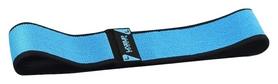 Эспандер для пилатеса LiveUp Hip Band, голубой (LS3629-L)