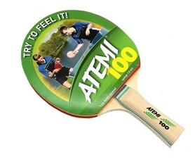 Ракетка для настольного тенниса Atemi 100, 1* (000-0001)