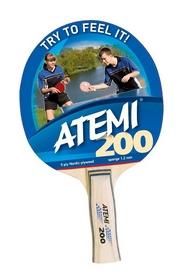 Ракетка для настольного тенниса анатомическая Atemi 200 A, 2* (000-0002)