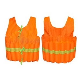 Жилет спасательный детский Zelart PL-3383, оранжевый