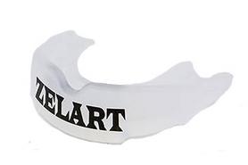 Капа однорядная взрослая Zelart BO-3604 в пластиковой упаковке, прозрачная