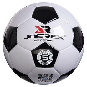 Мяч футбольный Joerex JAB40487-1 № 5 черно-белый (6944994937673)