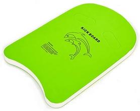 Досточка для плавания Dorfin PL-4401, зеленая