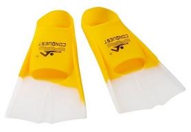 Ласты для бассейна короткие Dolvor F868, желтые