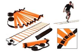 Лестница координационная Zelart C-4111 - оранжевая, 6 м