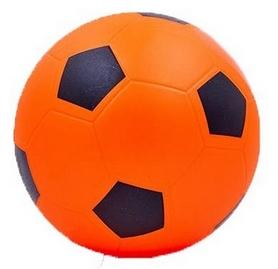 Мяч футбольный Soccer оранжевый 22 см