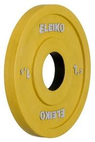 Диск олимпийский тренировочный Eleiko, 1,5 кг (124-0015R)