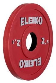 Диск олимпийский тренировочный Eleiko, 2,5 кг (124-0025R)