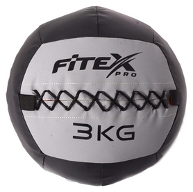 Мяч набивной (вобол) Fitex, 3 кг (MD1242-3)