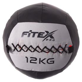 Мяч набивной (вобол) Fitex, 12 кг (MD1242-12)