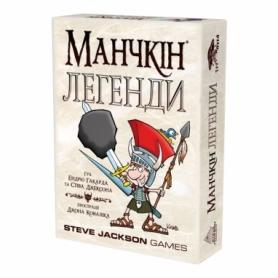 Игра настольная Манчкін Легенди (українською)