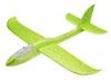 Самолет планер метательный светящийся по всей длине UFT Touch Sky Plane Original - зеленый, 48 см (GreenG3)