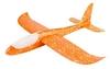Самолет планер метательный светящийся по всей длине UFT Touch Sky Plane Original - оранжевый, 48 см (OrangeG3)