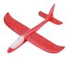 Самолет планер метательный светящийся по всей длине UFT Touch Sky Plane Original - красный, 48 см (RedG3)