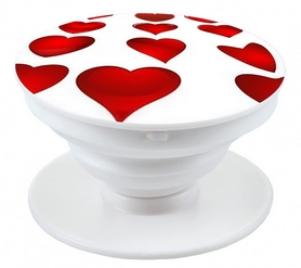 Держатель для телефона/планшета Попсокет UFT IP86 Popsocket Heart (UFTIP86)