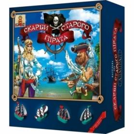 Игра настольная Сокровища старого пирата