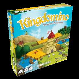 Игра настольная Kingdomino. Доміношне королівство
