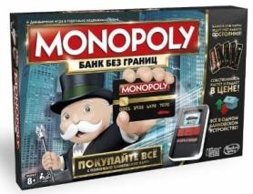 Игра настольная Монополия. С банковскими карточками