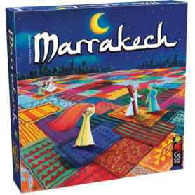 Игра настольная Marrakech (Марракеш)