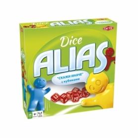 Игра настольная Алиас с кубиками