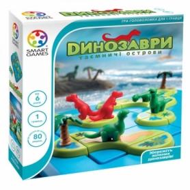 Игра настольная Динозаври. Таємничі острови
