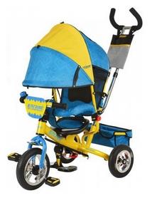 Велосипед детский трехколесный Profi M5361-01UKR, желто-голубой