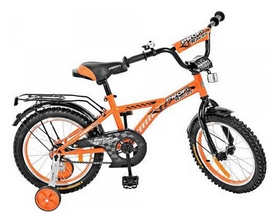 """Велосипед детский Profi G1635 - 16"""", оранжевый"""
