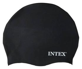 Шапочка для плавания детская Intex Silicone Swim Cap, черная (55991-1)