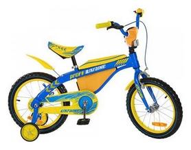 """Велосипед детский Profi Ukraine 16BX405UK - 16"""", желто-голубой"""