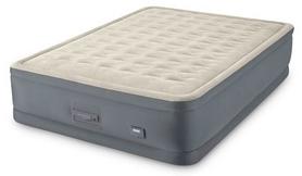 Кровать двуспальная надувная Intex PremAire Airbed, 152x203x46 см (64926)