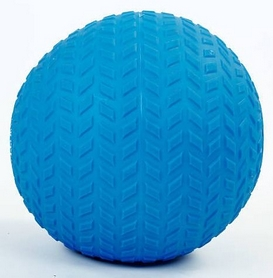 Мяч набивной слэмбол для кроссфита рифленый Record Slam Ball FI-5729-2, 4 кг