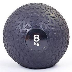 Мяч набивной слэмбол для кроссфита рифленый Record Slam Ball FI-5729-2, 8 кг