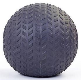 Мяч набивной слэмбол для кроссфита рифленый Record Slam Ball FI-5729-2, 8 кг - Фото №2