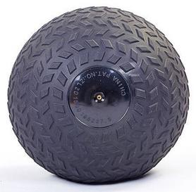 Мяч набивной слэмбол для кроссфита рифленый Record Slam Ball FI-5729-2, 8 кг - Фото №3
