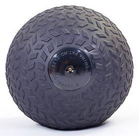 Мяч набивной слэмбол для кроссфита рифленый Record Slam Ball FI-5729-2, 9 кг