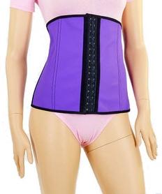 Пояс утягивающий талию Kim Kardashian ST-1118-V, фиолетовый