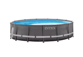 Бассейн каркасный Intex 26334  с фильтрующим насосом и аксессуарами, 610х122 см