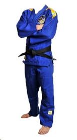 Кимоно для дзюдо Professional IJF Green Hill синее (модель 2015)