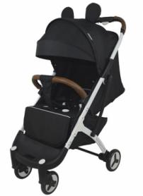 Детская прогулочная коляска Yoya Plus 3 микки Черная (54544651)