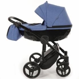 Детская коляска 2 в 1 Tako Junama Diamond 09 Синяя (13-JD09) - Фото №2