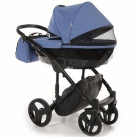 Детская коляска 2 в 1 Tako Junama Diamond 09 Синяя (13-JD09) - Фото №3