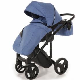 Детская коляска 2 в 1 Tako Junama Diamond 09 Синяя (13-JD09) - Фото №4