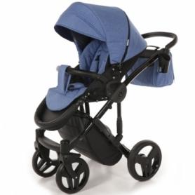 Детская коляска 2 в 1 Tako Junama Diamond 09 Синяя (13-JD09) - Фото №5