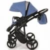 Детская коляска 2 в 1 Tako Junama Diamond 09 Синяя (13-JD09) - Фото №6