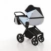 Детская коляска 2 в 1 Tako Junama Geographic 03 Серо-голубая (13-JG03) - Фото №2