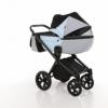 Детская коляска 2 в 1 Tako Junama Geographic 03 Серо-голубая (13-JG03) - Фото №3